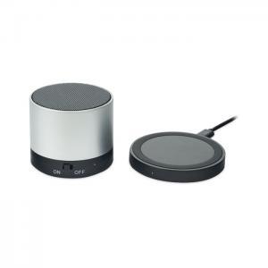 Głośnik bezprzewodowy srebrny mat