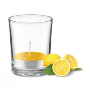 Świeczka zapachowa żółty