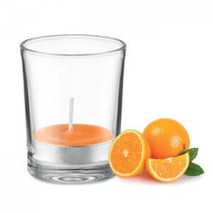 Świeczka zapachowa pomarańczowy