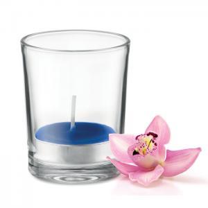 Świeczka zapachowa niebieski