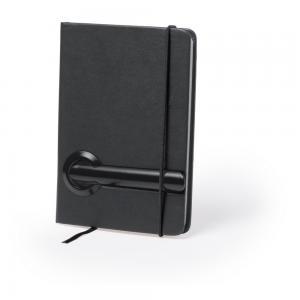 Notatnik (80 kartek w linie), długopis