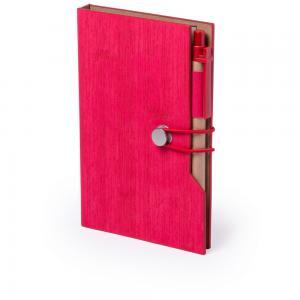 Zestaw do notatek, notatnik A5, karteczki samoprzylepne, długopis