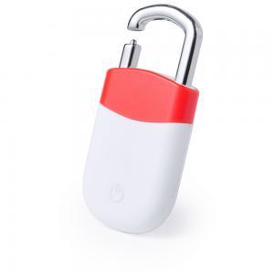 Bezprzewodowy wykrywacz kluczy czerwony