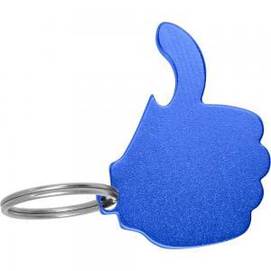 """Brelok do kluczy, otwieracz do butelek """"like it"""" niebieski"""