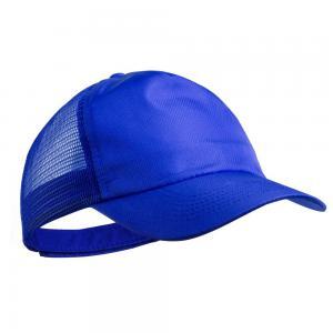 Czapka z daszkiem niebieski