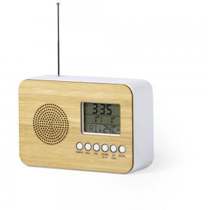 Zegar na biurko z alarmem, radio