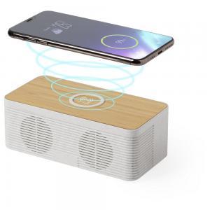 Głośnik bezprzewodowy 5W, ładowarka bezprzewodowa 10W