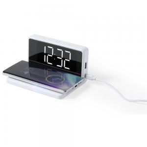 Ładowarka bezprzewodowa 5W, zegar na biurko z budzikiem