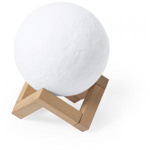 """Głośnik bezprzewodowy 3W """"księżyc"""", lampki LED"""
