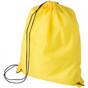 Worek ze sznurkiem rPET żółty