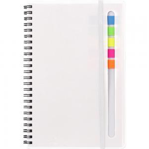 Zestaw do notatek, notatnik ok. A5, karteczki samoprzylepne