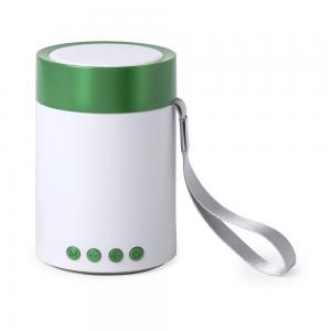 Głośnik bezprzewodowy 3W, radio zielony