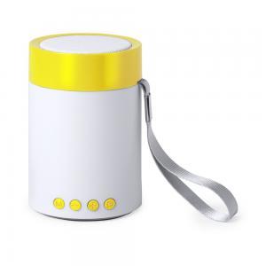 Głośnik bezprzewodowy 3W, radio żółty