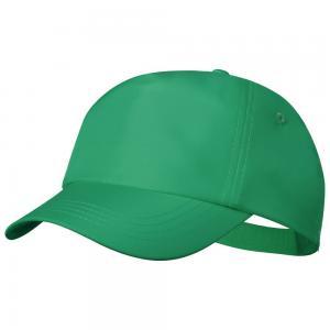 Czapka z daszkiem rPET zielony