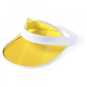 Daszek przeciwsłoneczny żółty