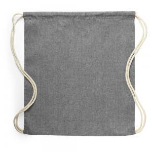 Worek ze sznurkiem z bawełny z recyklingu