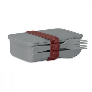 Pudełko na lunch szary