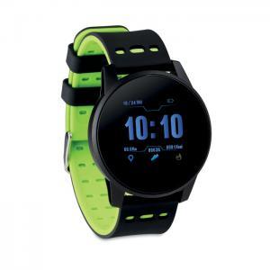 Smart watch sportowy limonka