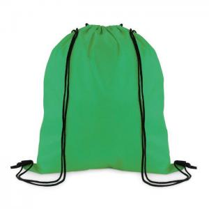 Worek z poliestru 210D zielony/zielony