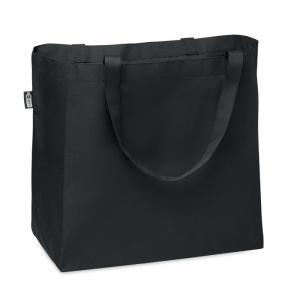 Duża torba na zakupy 600D RPET czarny