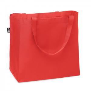 Duża torba na zakupy 600D RPET czerwony