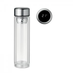 Butelka z termometrem na dotyk