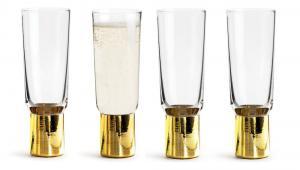 Kieliszki do szampana Club, 4-pak
