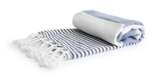 Ręcznik Hamam EKO, niebieski