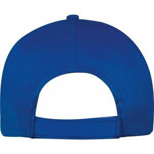 Czapka z daszkiem 5 paneli SANTA FE niebieski