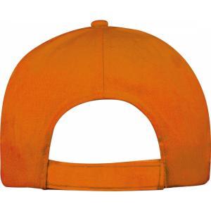 Czapka z daszkiem 5 paneli SANTA FE pomarańczowy