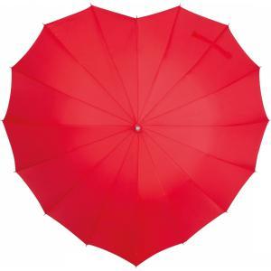 Parasol w kształcie serca