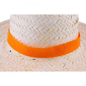 Tasiemka non-woven do kapelusza Pomarańczowy