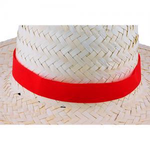 Tasiemka non-woven do kapelusza Czerwony