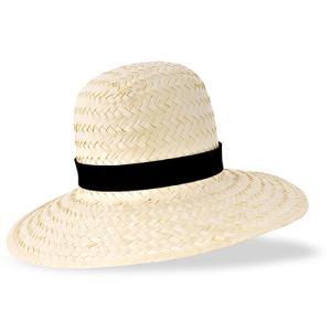 Słomkowy kapelusz damski