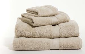 Zestaw ręczników Terry z certyfikatem Fair Trade piaskowy 03