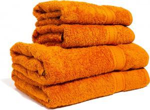 Zestaw ręczników Terry z certyfikatem Fair Trade czerwony rio 37