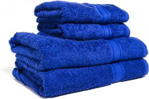 Zestaw ręczników Terry z certyfikatem Fair Trade szafirowy 55