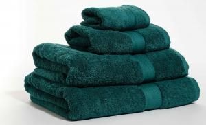 Zestaw ręczników Terry z certyfikatem Fair Trade szmaragdowy 65